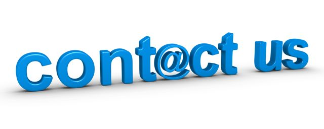 how to put contact infor